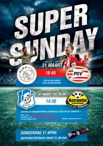 31 maart Super Sunday